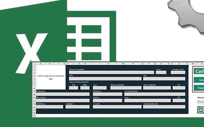 Planilha de cadastro de pessoas no Excel