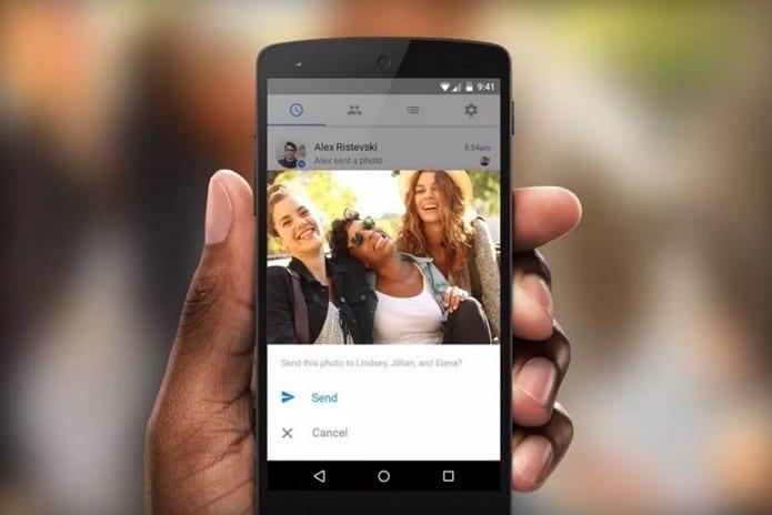 Facebook Messenger inicia os testes de envio de fotos com reconhecimento facial