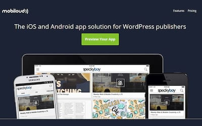 Review Mobiloud plugin - A f�brica de Apps