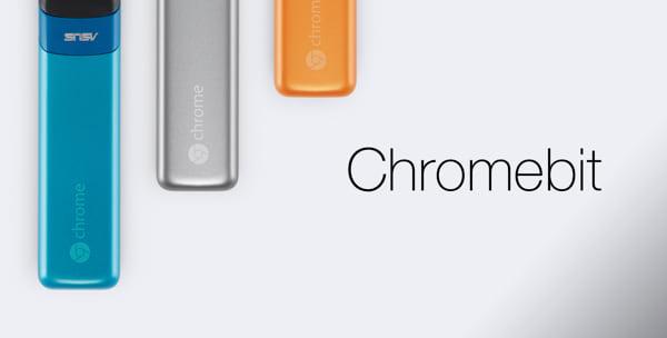 Chromebit do Google e Asus pode transformar uma TV em computador