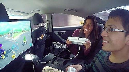 Agora, Easy Taxi coloca videogame em táxis