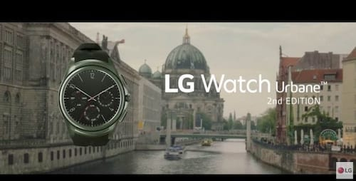 LG suspende venda do seu smartwatch Urbane