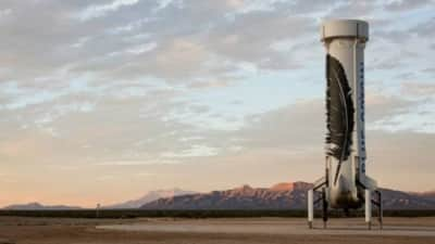 Blue Origin realiza aterrissagem de foguete com sucesso
