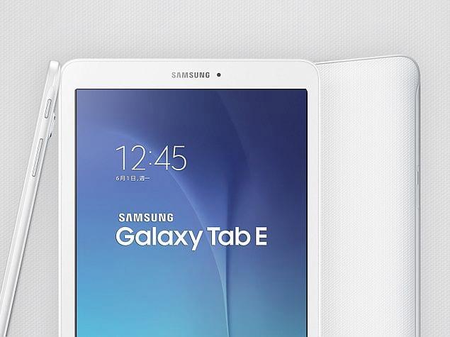 Samsung está desenvolvendo sucessor para Galaxy Tab E, diz fonte