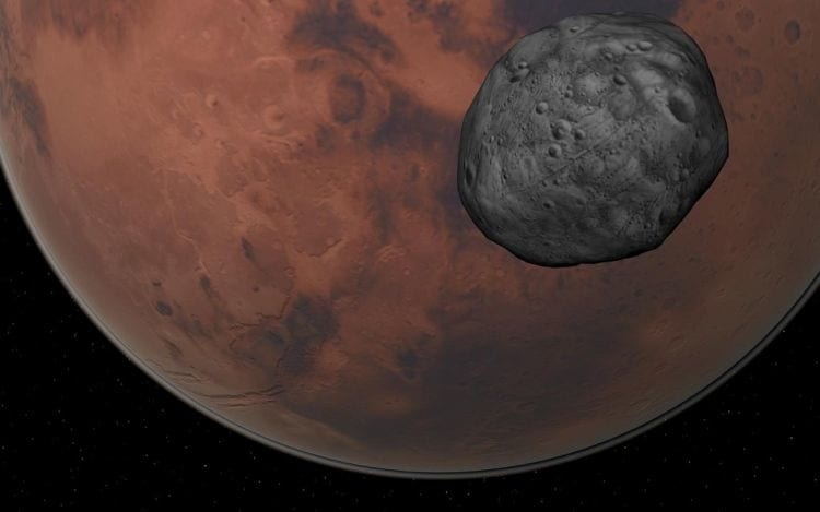 Marte deverá ter anéis como os de Saturno