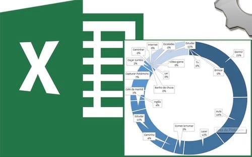 Planilha gratuita de controle e organização de horários e atividades no Excel