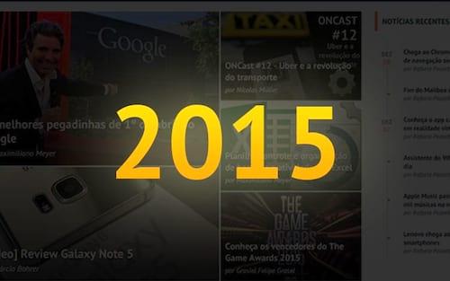 Retrospectiva 2015 do Oficina da Net