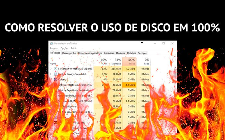 Vídeo: Como resolver o problema de consumo de disco em 100% no Windows