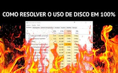 Vídeo: Como resolver o problema de consumo de disco em 100% no Windows