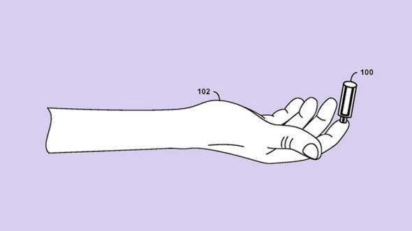 Google registra patente de coletor de sangue sem uso de agulhas