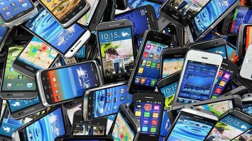 Brasil registra queda nas vendas de smartphones
