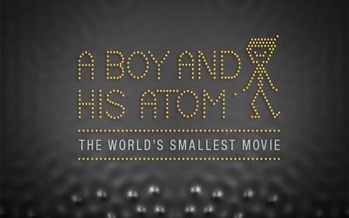 Assista ao menor filme do mundo feito apenas de átomos