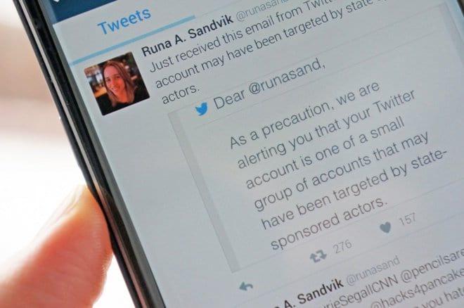 Twitter alerta usuários sobre possíveis ataques do governo