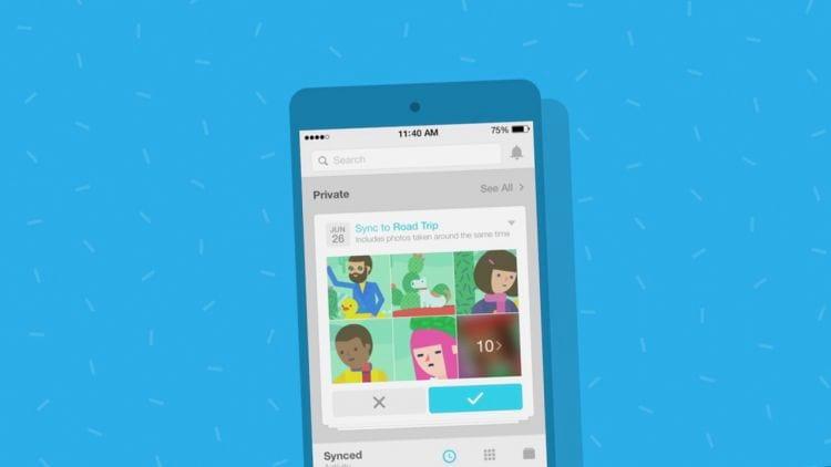 Facebook recomenda o app Moments para usuários realizarem backup