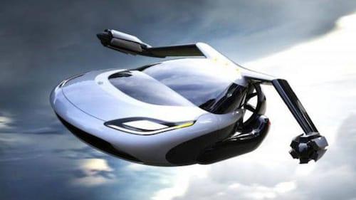 Iniciam os testes para o primeiro carro voador