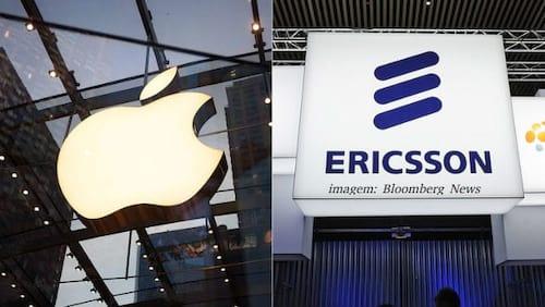 Apple e Ericsson encerram processo e assinam acordo