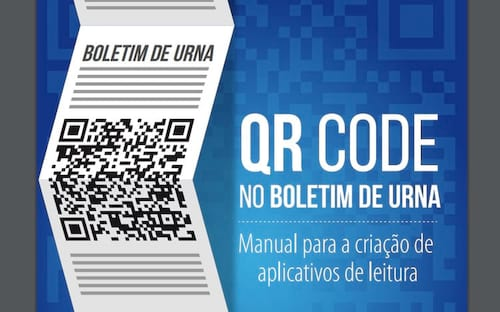 Próximas eleições terão auxílio de aplicativo e QR code