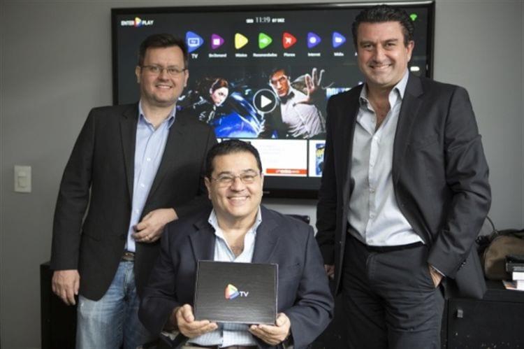 Fabio Vilardo, diretor de tecnologia (CTO), Jorge Salles, diretor de operações (COO) e Fabio Golmia, diretor presidente (CEO).