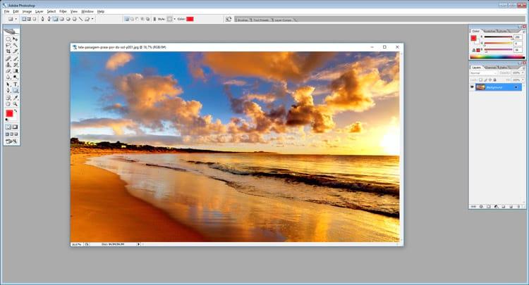 Photoshop: Como fazer efeito lente de câmera com o Lens Flare