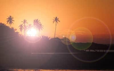 Photoshop: Como fazer efeito lente de c�mera com o Lens Flare