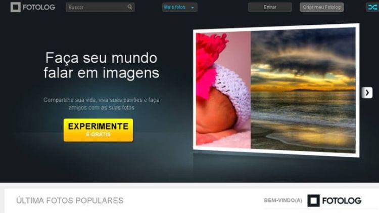 Sem qualquer aviso, Fotolog é removido do ar. Usuários não conseguiram recuperar as imagens postadas.