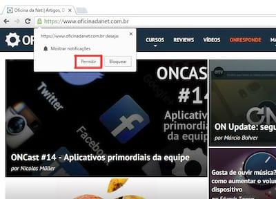 Novos conte�dos do Oficina da Net em seu navegador ou smartphone