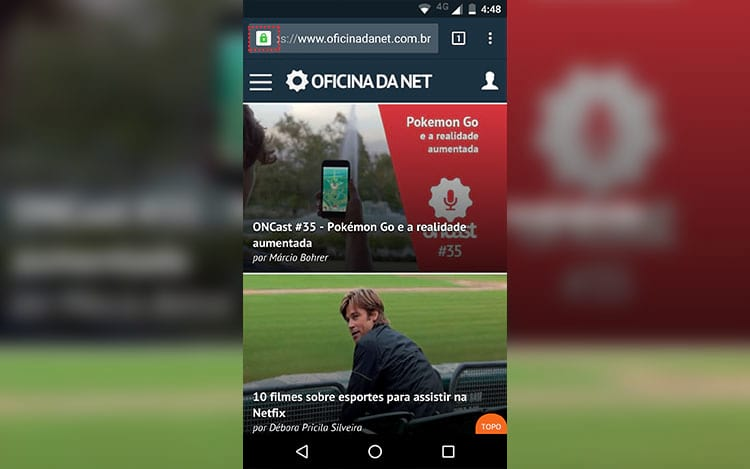 Novos conteúdos do Oficina da Net em seu navegador ou smartphone