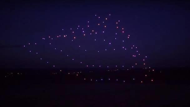 Intel bate recorde ao por 100 drones no ar
