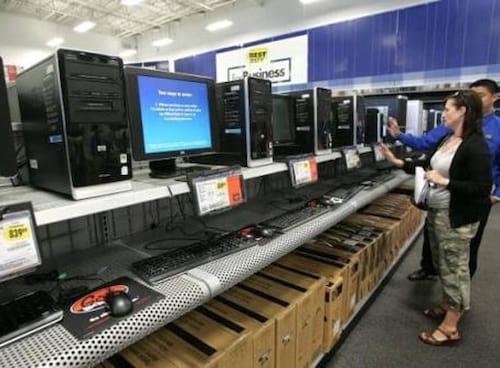Mercado de computadores em baixa