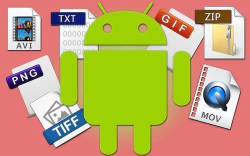 Como abrir todas as extensões de arquivos no Android