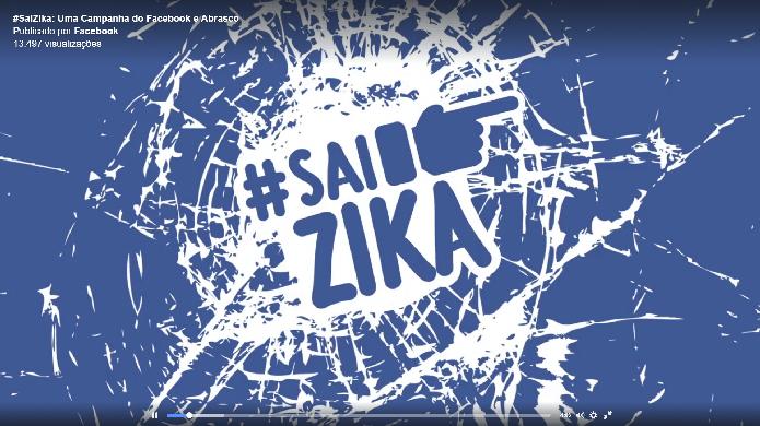 Zika Vírus no alvo do Facebook