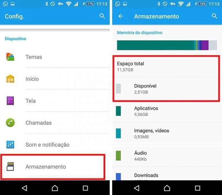 Pouco espaço no Android? Veja como liberar memória no celular