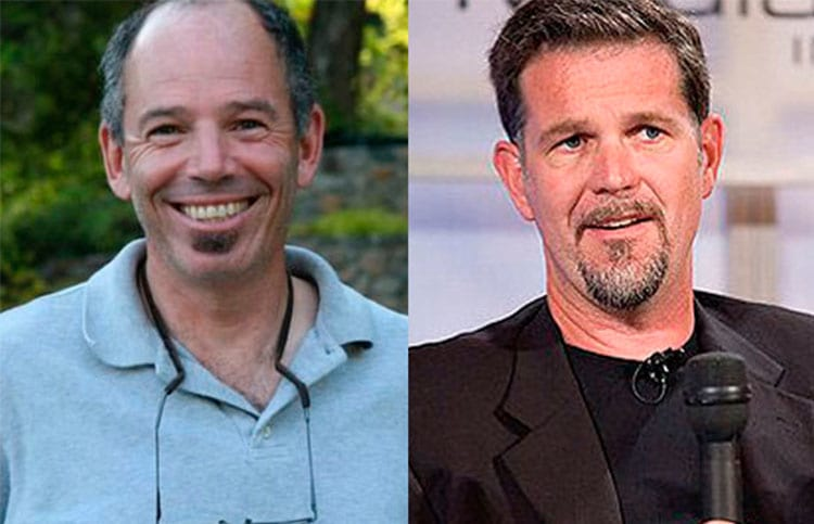 Marc Rudolph e Reed Hastings
