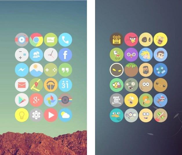 10 pacotes de ícones para o Android