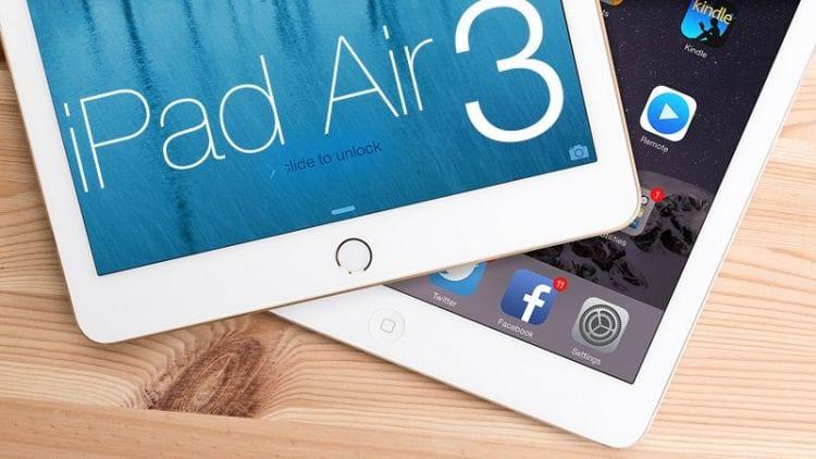 Apple deverá lançar novo modelo do iPad Air no primeiro semestre do ano.