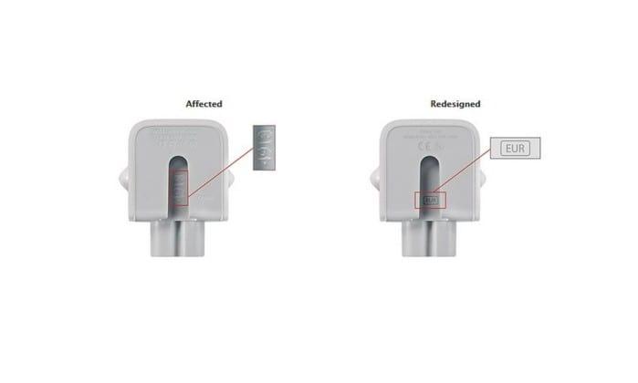 Apple convoca consumidores para recall de tomada de carregadores