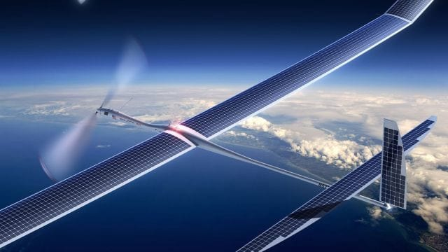 Drones podem ser usados pelo Google para transmitir Internet 5G