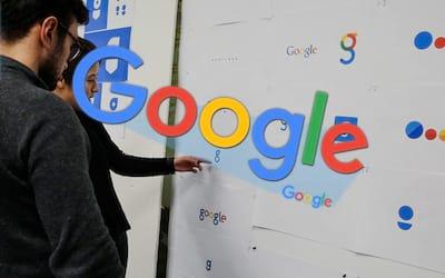 Hist�ria do logotipo do Google