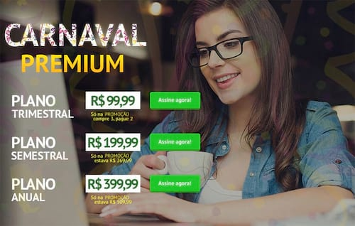 Promoção Carnaval Premium