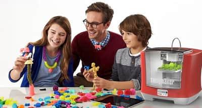 Impressora 3D permite que crian�as fa�am seus pr�prios brinquedos