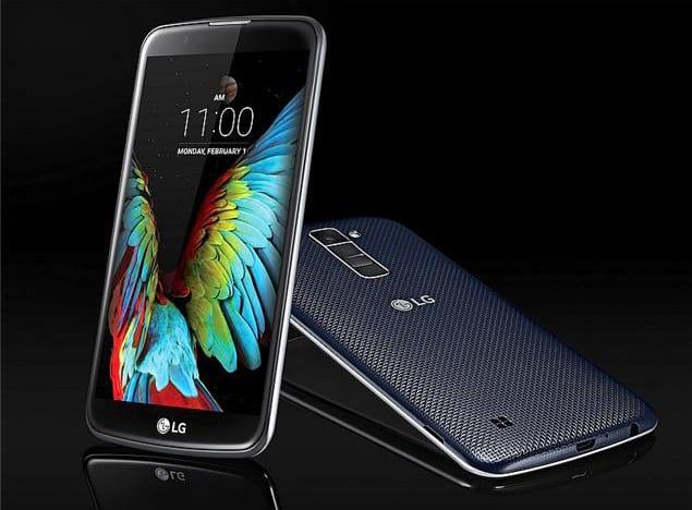 LG lança smartphones K10, K8 e K4 no Brasil