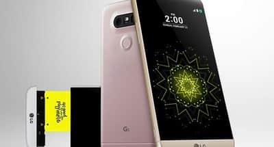 LG inova ao lan�ar G5, celular com tr�s c�meras e bateria remov�vel