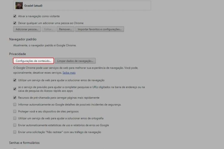 Como reativar notificações bloqueadas no Chrome?