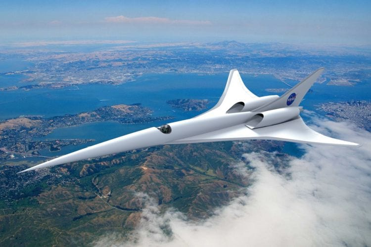 Nasa irá fabricar avião supersônico para passageiros