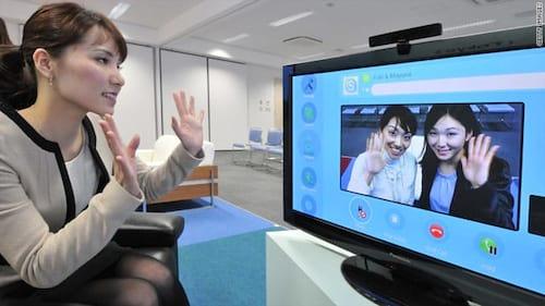 Chega ao fim as atualizações para TVs do app do Skype