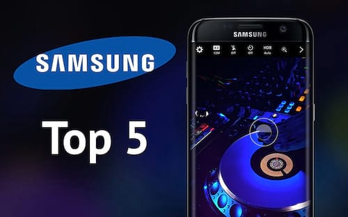 5 melhores smartphones da Samsung