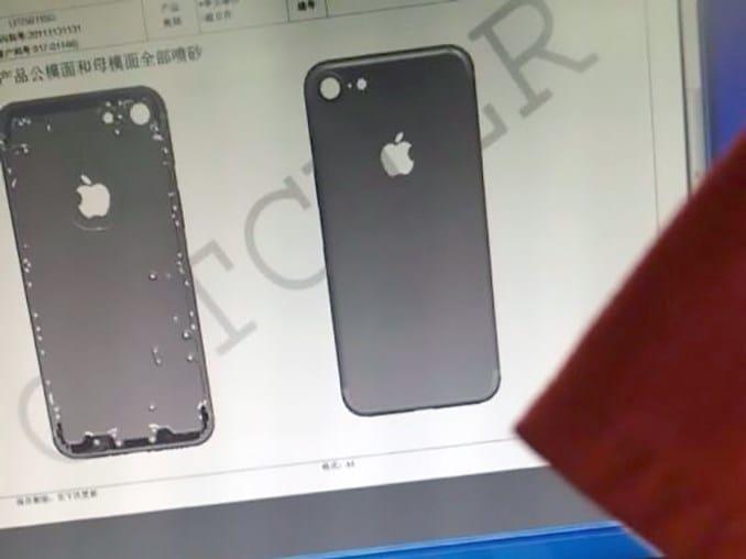 Imagens do possível iPhone 7 vazam na web