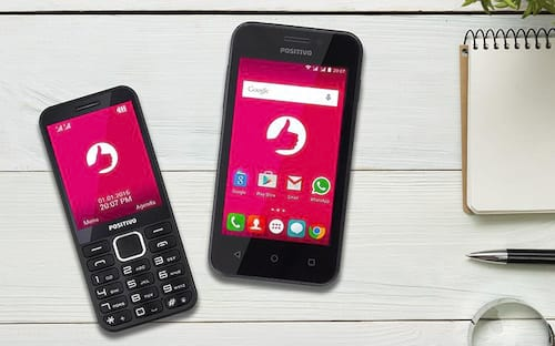 Positivo reforça seu time com novo smartphones e feature phone