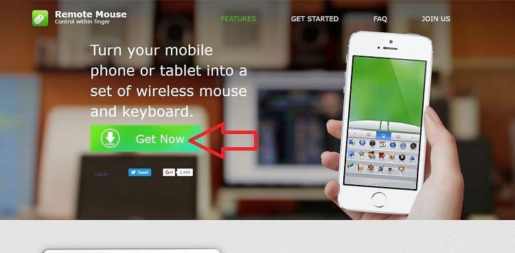 Como controlar o PC pelo smartphone - Remote Mouse