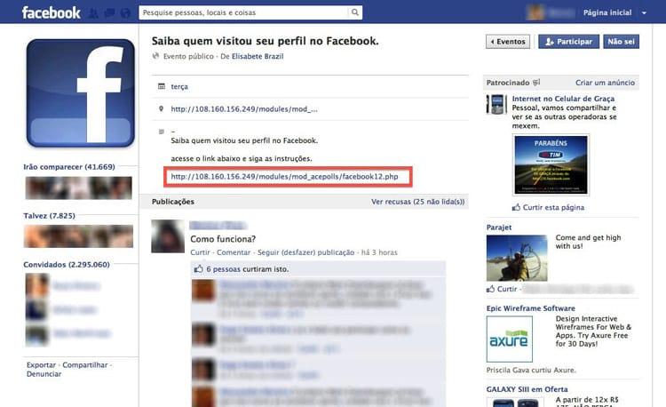 Recursos que prometem mostrar quem visitou perfil no Facebook são boatos. Relembre alguns